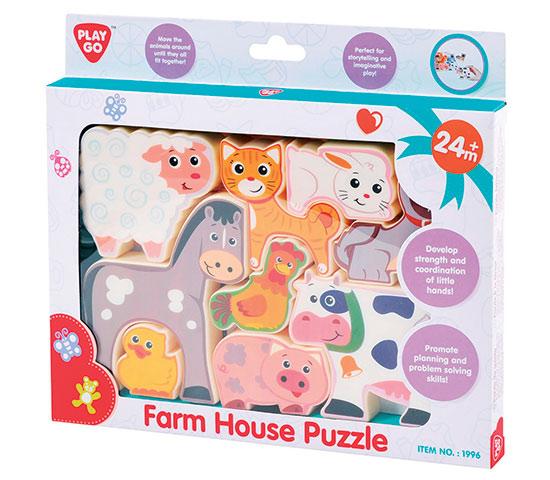 Puzzle Farma od 24 měsíců