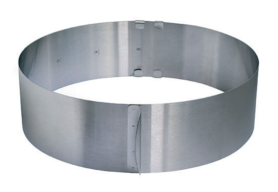 Nastavitelná forma na pečení kulatá, 16 - 32 x 8,5 cm