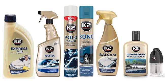 Sada autokosmetiky K2 - Fresh