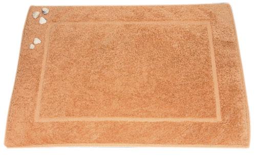 Předložka Jantar 50 x 70 cm, rámeček, lososová