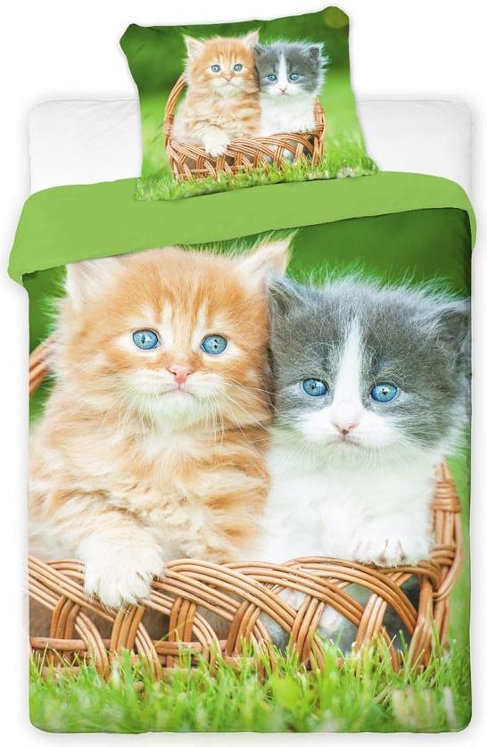 Povlečení fototisk Kočka, 70 x 90 cm, 140 x 200 cm, Tibex