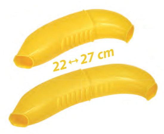 Obal na banán Go 4672, nastavitelná krabička 22 - 27 cm