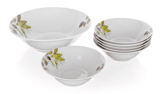 Porcelánové misky OLIVES, sada 7 ks, Banquet