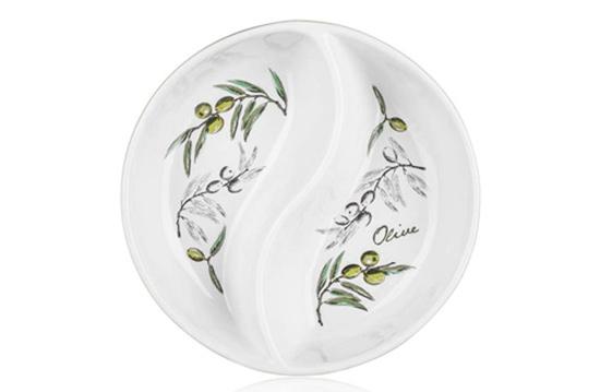Mísa servírovací kulatá OLIVES 20,5 cm, Banquet