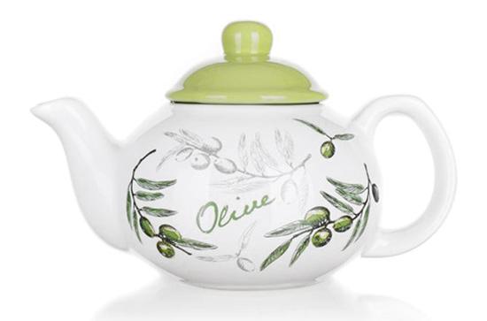 Konvice keramická na čaj OLIVES 700 ml, Banquet
