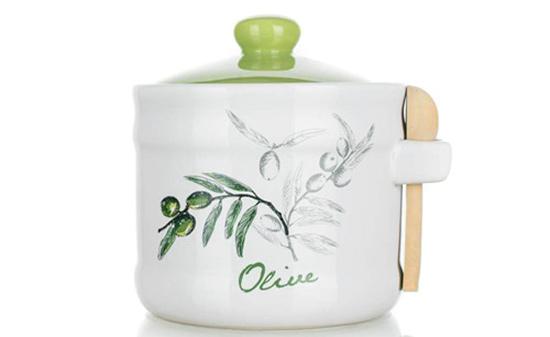 Cukřenka se lžičkou OLIVES 400 ml, Banquet