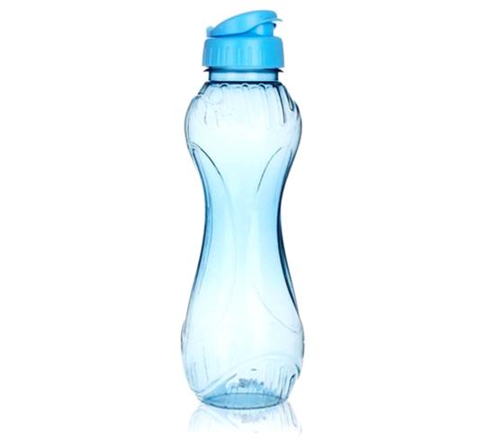 Láhev na pití plastová, sportovní TREND 600 ml, modrá, Vetro
