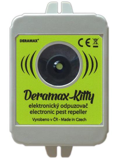 Deramax Kitty ultrazvukový odpuzovač - plašič koček a psů