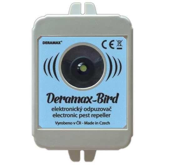 Deramax Bird ultrazvukový odpuzovač - plašič ptáků