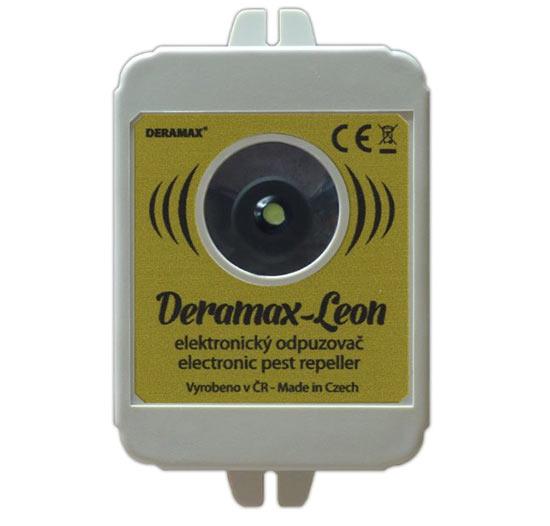 Deramax Leon ultrazvukový odpuzovač - plašič divoké zvěře