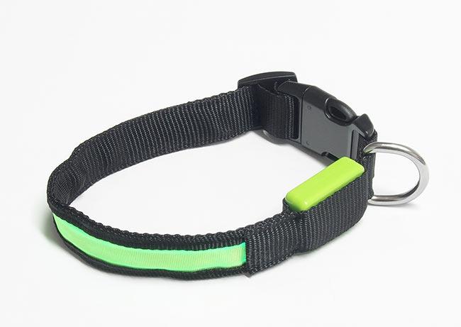 Svítící obojek pro psy Dog-L01, obvod 40 - 60 cm