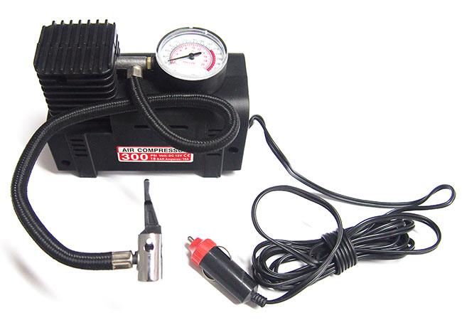 Vzduchový kompresor do auta HCA-01, 260 PSI/18 bar