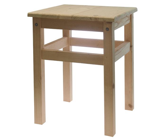 Dřevěné štokrle DVV764, 28 x 28 x 31 cm
