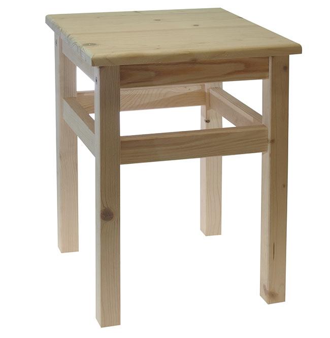 Dřevěné štokrle DVV771, 33 x 33 x 44 cm