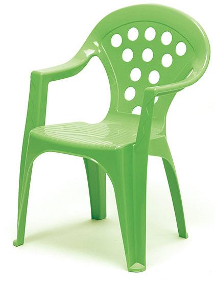 Dětské křesílko stohovatelné Adodo 5002, zelené