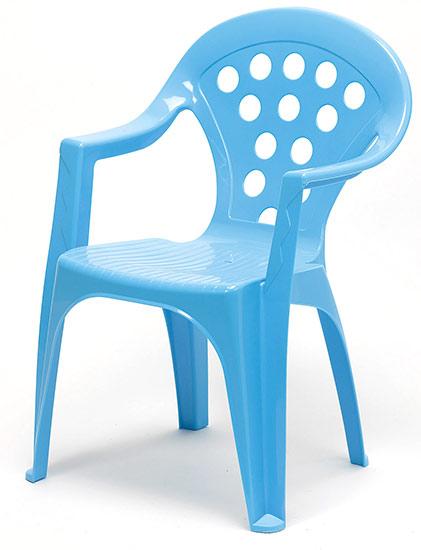 Dětské křesílko stohovatelné Adodo 5002, modré