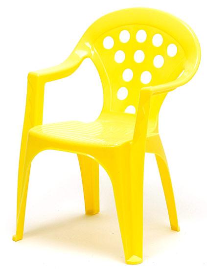 Dětské křesílko stohovatelné Adodo 5002, žluté