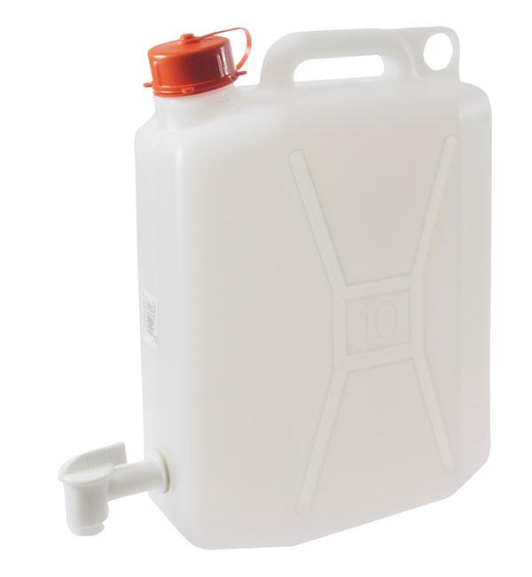 Kanystr na pitnou vodu s kohoutkem 10 l Ado 534