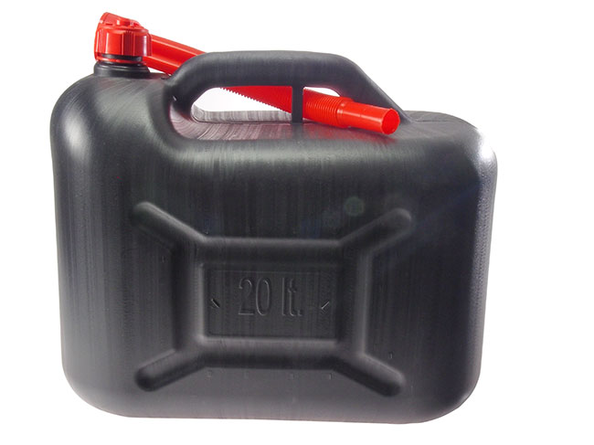 Plastový kanystr na benzín PHM 20l, Fortel