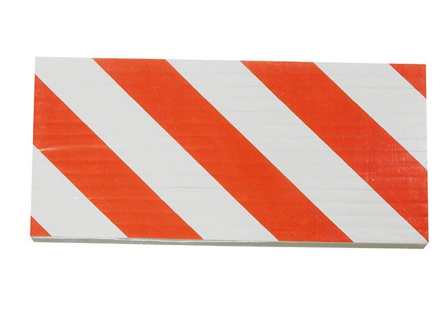 Reflexní pěnový nárazník pro bezpečné parkování na sloup 18x38x1cm