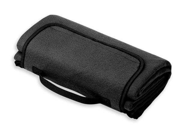 Pikniková cestovní deka PAT 140 x 130 cm, černá