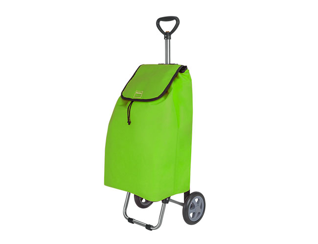 Nákupní taška s kolečky TULIP 415210, 35 L, zelená