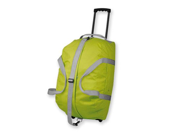 Cestovní taška na kolečkách Hilton 600D, 62 x 31 x 32 cm - zelená, Reda