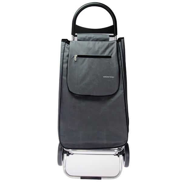 Nákupní taška na kolečkách Rio, velká 50 l, šedá