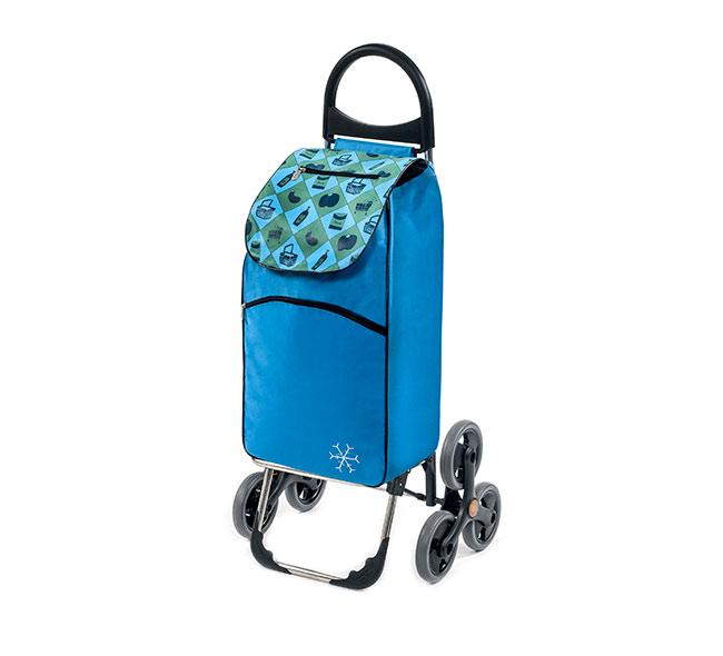 Nákupní taška na kolečkách do schodů s termoizolací Parigi, 55 l