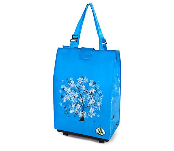 Nákupní taška s kolečky skládací Delta, 30 l