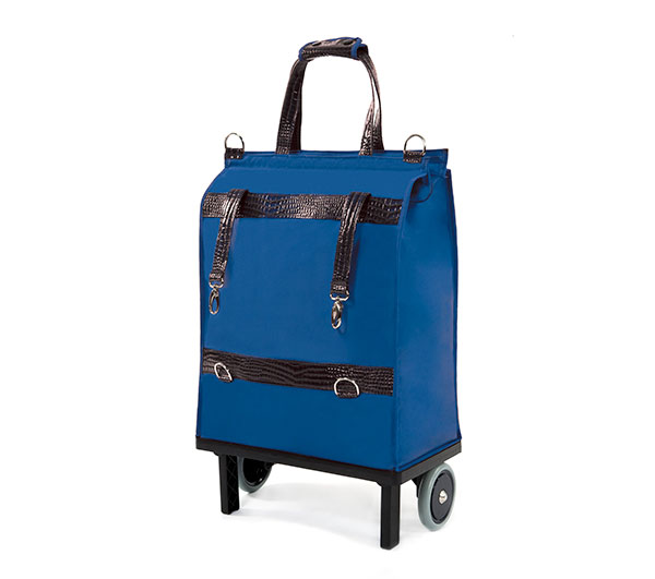 Módní nákupní taška skládací s kolečky Stilo, 30 l