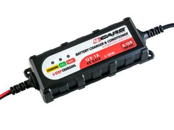 Inteligentní udržovací nabíječka autobaterií 6/12V, 2A