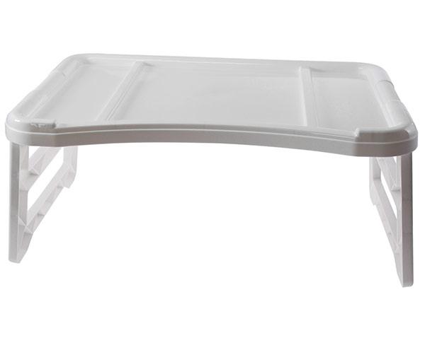 Plastový servírovací stolek do postele 4160, 51x30x23 cm