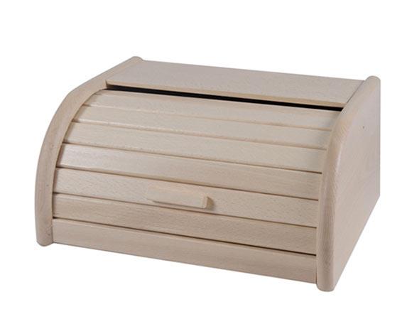 Dřevěná buková chlebovka Adodo 5034, 31,5x25x16 cm