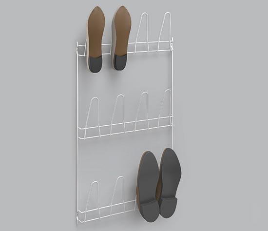 Věšák na boty Penny 41x77 cm, 6 párů, Metaltex