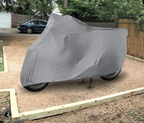 Nepromokavá krycí plachta na moto XXL, 294 cm, Compass