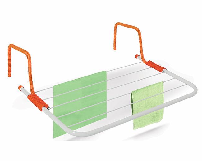 Závěsný sušák na prádlo na radiátor Adodo 3 m, 50x30 cm