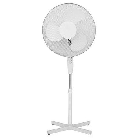 Stojanový ventilátor 6483 42W, 40 cm, bílá