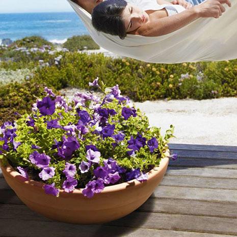 Zahradní mísa na květiny Žardinka 35 L, průměr 60 cm, terakota