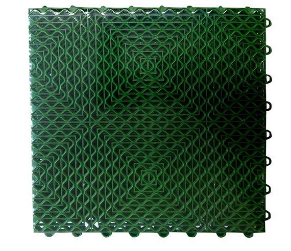Venkovní podlaha na terasu, balkón, trávník Adodo 6349 30x30 cm, 6ks, zelená