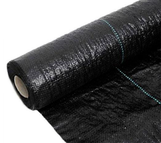 Tkaná polypropylenová mulčovací textilie PP 100g/m2, 1 x 10 m, černá