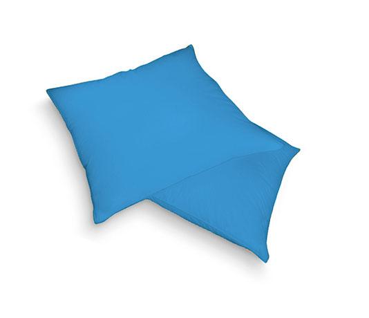 Froté povlak na polštář, modrá 40 x 40cm