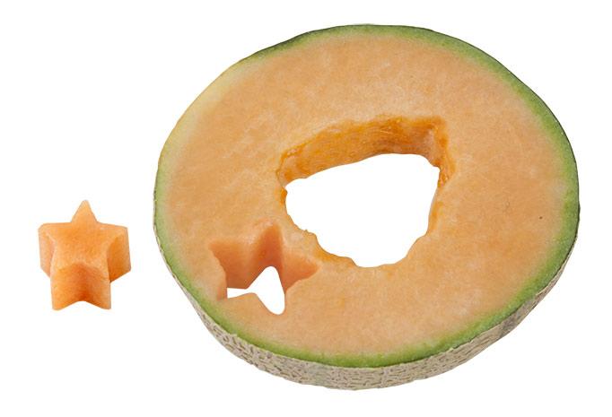 Vykrajovátko na ovoce a zeleninu Hvězda 6527 nerez, 18 cm