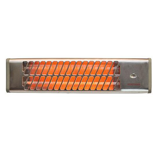 Nástěnný infrazářič do koupelny IQ 001, 1500 W
