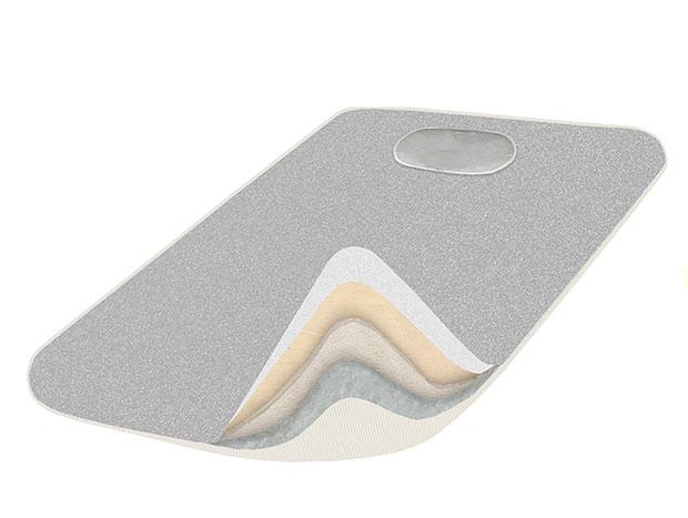 Teflonová deka 3321 na žehlení se snímatelným potahem 120 x 70 cm