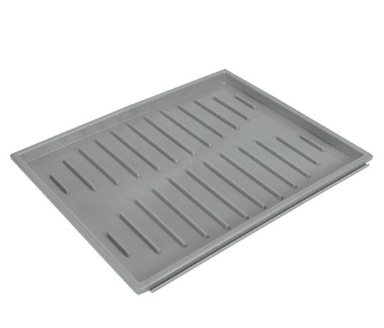 Podložka pod boty do skříňky skládací 40 x 31 cm, šedá
