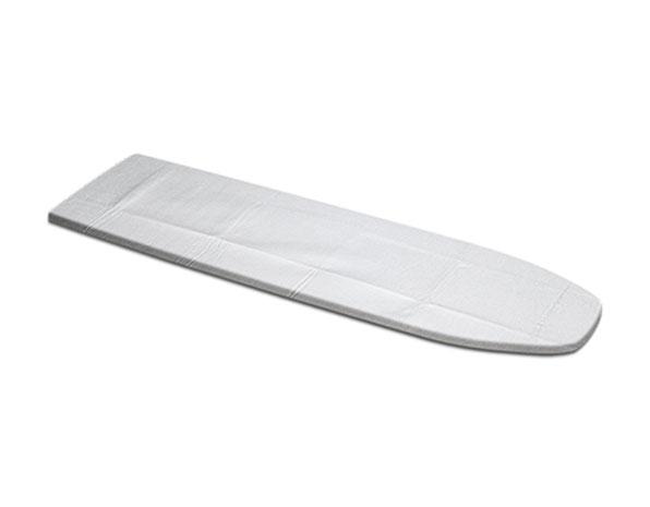 Potah s nepřilnavým povrchem na žehlící prkno 127 x 48 cm, 6641 rozměr 130 x 54 cm, stříbrná
