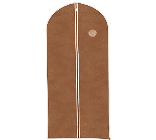 Ochranný obal na oblečení 6573 135 x 65 cm, hnědá