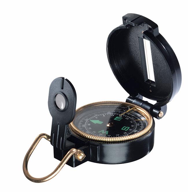 Kompas s lupou 55000, 5,5 x 2,5 cm