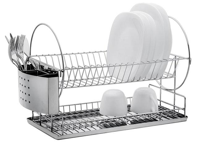 Florina Odkapávač na nádobí Piani s podložkou 40x23x33,5 cm